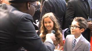 "Daytime Emmy Award Interviews: Brooklyn Rae Silzer and Nicolas Bechtel of ""General Hospital"""
