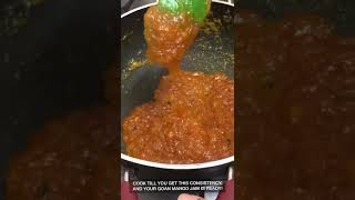 Goan Mango Jam #StRegisRecipes #MarriottAtHome