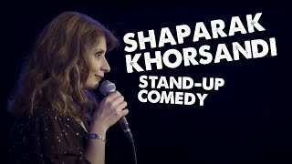 Shappi Khorsandi lives with a little English gentleman | Soho Theatre On Demand