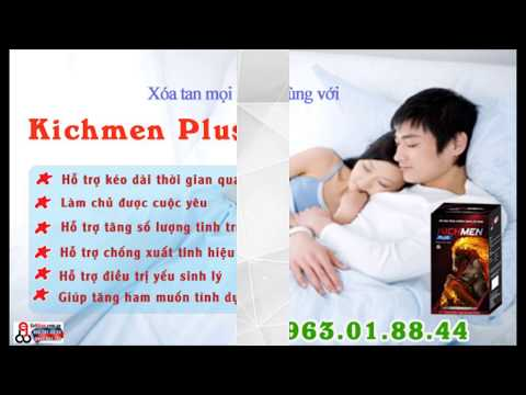 Thực phẩm chức năng Kichmen Plus dành cho nam