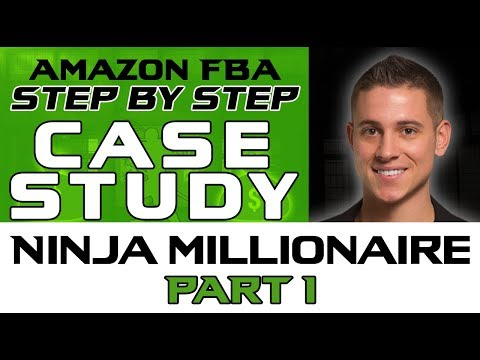 Making a Ninja Millionaire Case Study | Amazon FBA - A to Z Tutorial: Part #1 Ninja Product Research