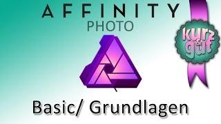 Affinity Photo, die wichtigsten Tips