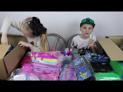 Unboxing Our Smiggle Back To School Stationery Haul