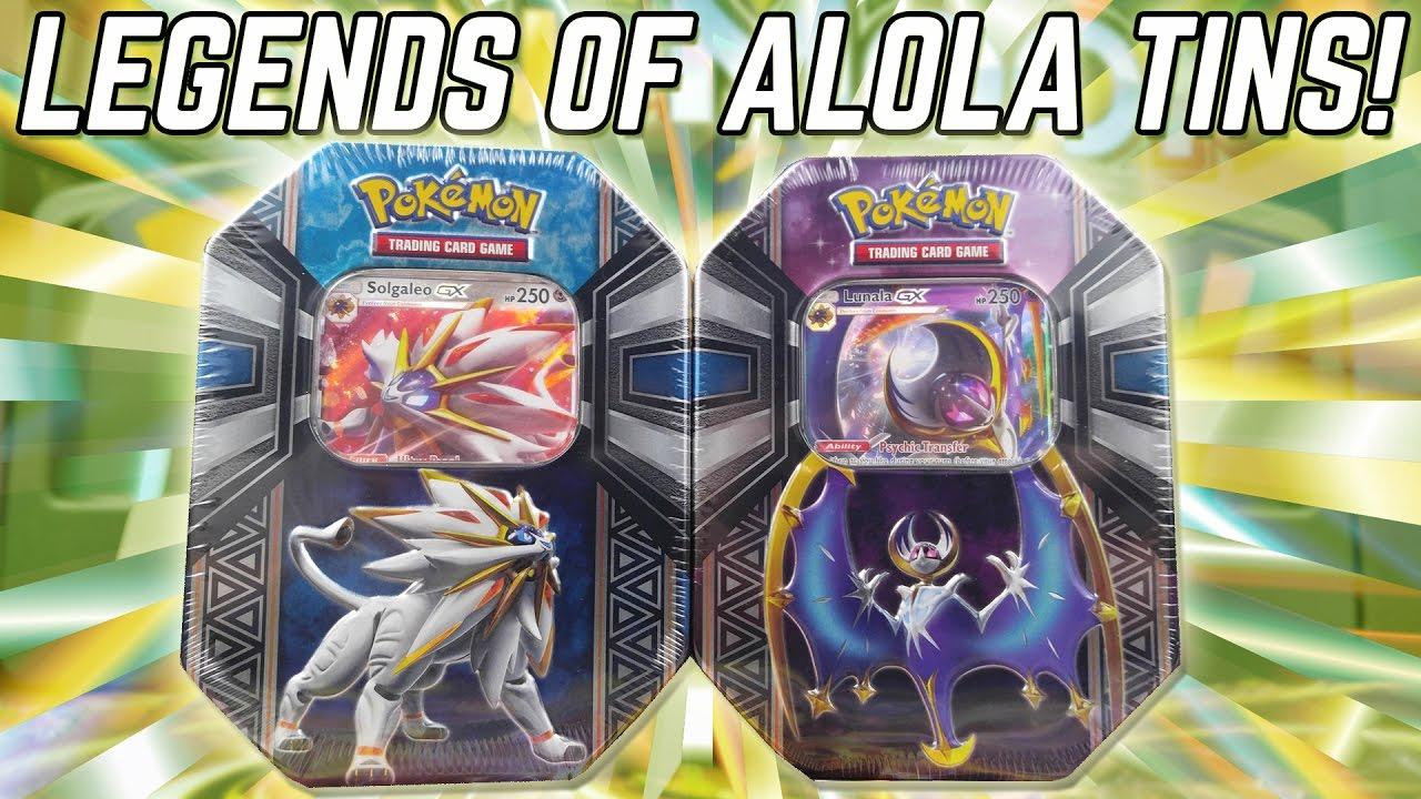 Opening Early Solgaleo Gx Amp Lunala Gx Legends Of Alola