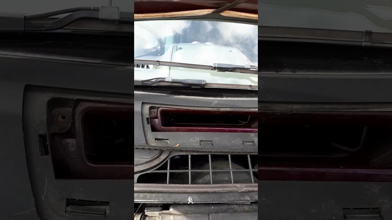 Mercedes Vito Heater Fan Replacement Youtube