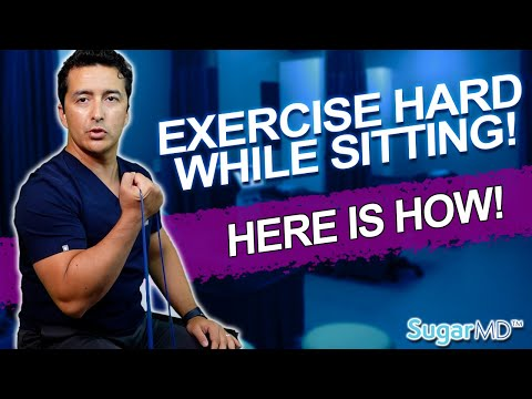 Home Workout to Lower Blood Sugar FAST!