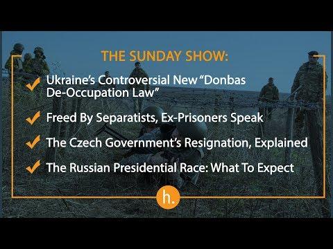 The Sunday Show: Donbas De-Occupation Law, Ex-Prisoners Speak, Russian Elections