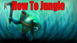 DoTa 2 How To Jungle Tidehunter  Patch 7.22h