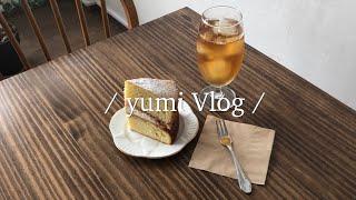 yumi Vlog  일상 브이로그  카페투어  원데이 …
