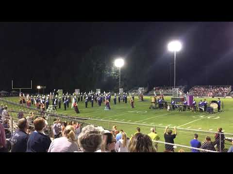 North Pontotoc High School Band 2018 - Halftime 10/4/18