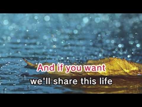 Matchbox Twenty - Overjoyed (Karaoke and Lyrics Version)