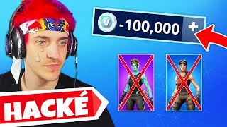 5 Fortnite Streamers That Have Been HACKEd Live...