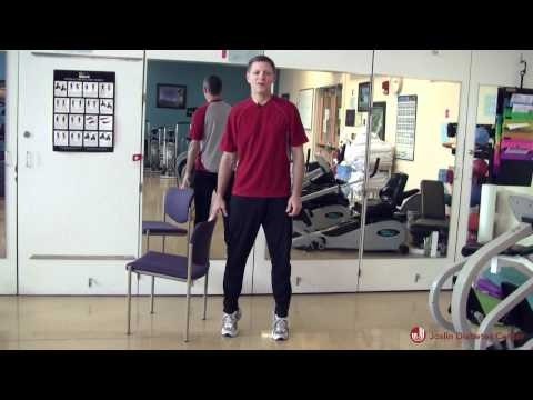 Get Fit, Get in Control: Balance Exercises with Chair