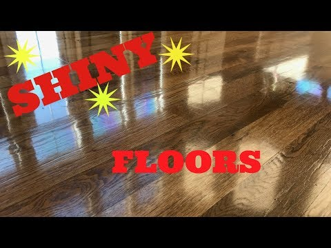 How I Get Gleaming Hardwood Floors!