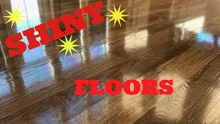 How I Get Gleaming Hardwood Floors!