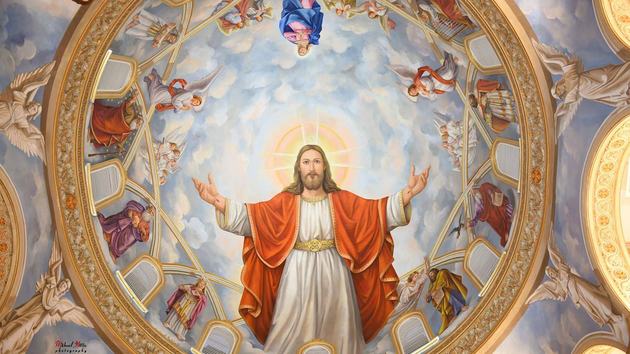 تمجيد اليوم التاسع من نهضة صوم السيدة العذراء مريم