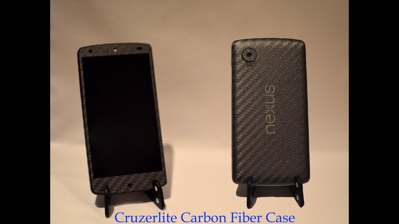 nexus 5 skin template - cruzerlite nexus 5 graphite carbon fiber skin youtube