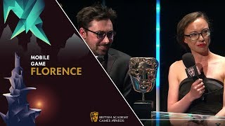 Kamina Vincent Wanted Florence to Make Her Cry | BAFTA Games Awards 2019