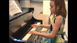 "Fur Elise by Beethoven by 9 yr old ""Full Version"" piano"