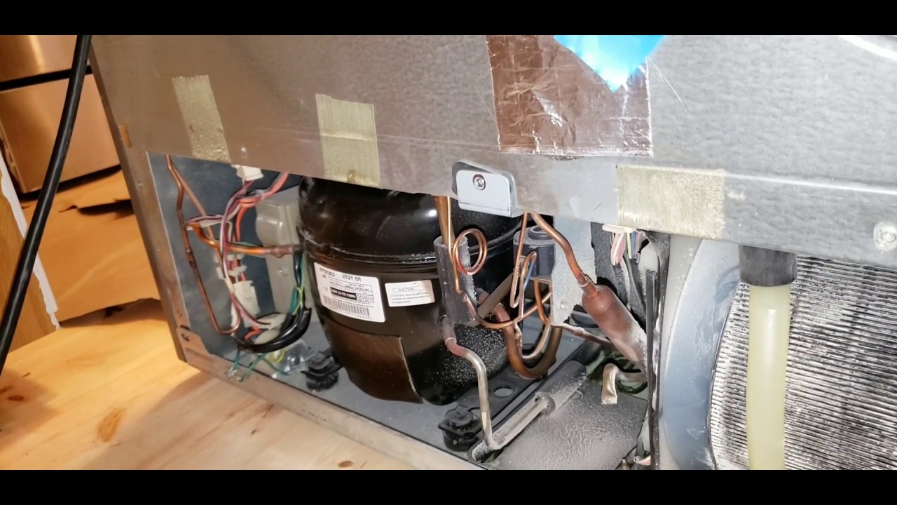 how to check fridge compressor is working or not, tast