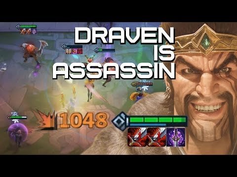 ASSASSIN DRAVEN - A 6 ASSASSINS VARIATION COMP Teamfight Tactics | TFT | LoL Auto Chess