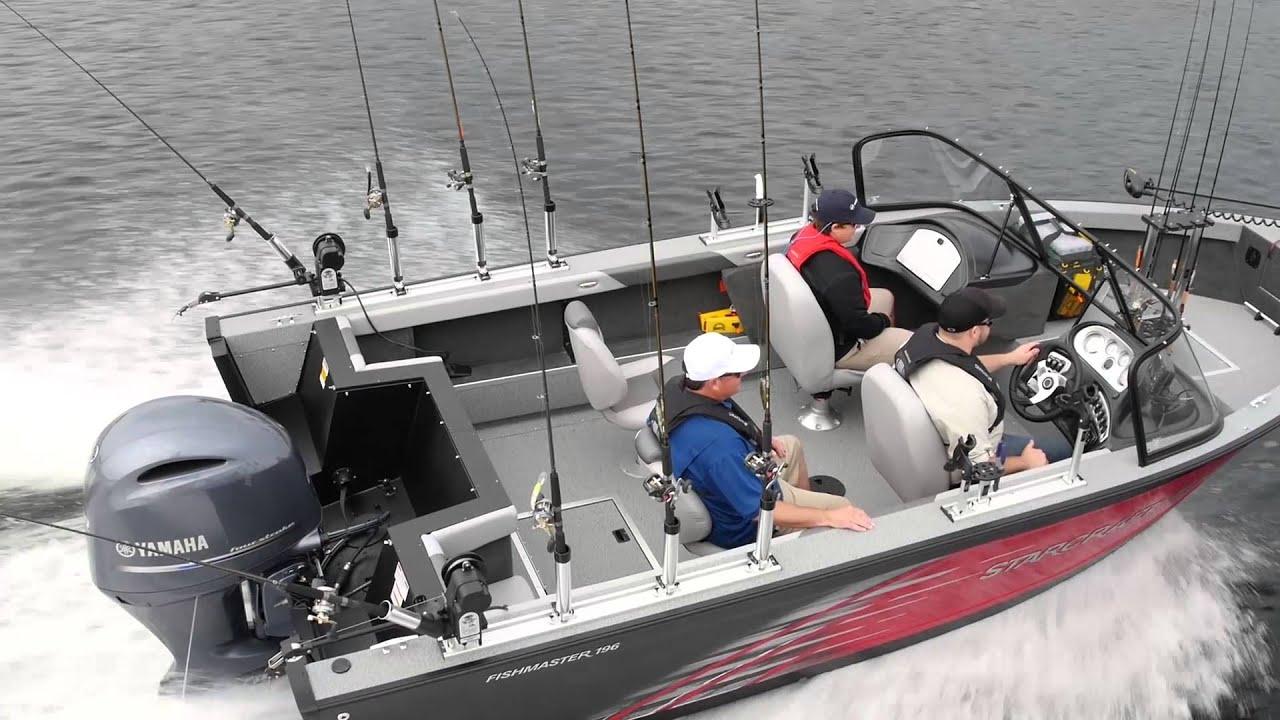Starcraft Fishmaster 196 Fishing Boat Youtube