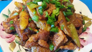 Жареная картошечка по-корейски