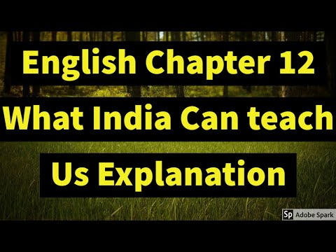 Chapter 12 What India Can Teach Us Max Muller Explanation In Hindi With Summary