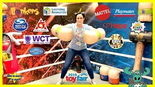 NYTF New York Toy Fair 2019 Part 3 Ryan's World FGTeev SpinMaster Mattel Just Play Moose Wicked Cool