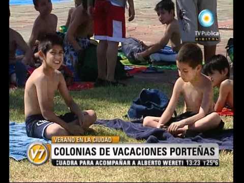 Visión Siete: Verano en la Ciudad: Colonias de vacaciones porteñas