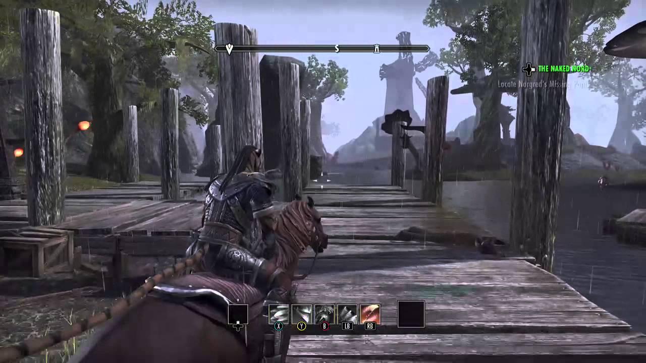 Naked Dance [The Elder Scrolls Online: Tamriel Unlimited