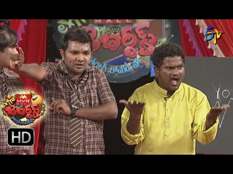 Venky Monkies Performance | Extra Jabardsth | 10th March 2017 | ETV  Telugu