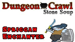Dungeon Crawl Stone Soup - Spriggan Enchanter of Dith - Episode 4