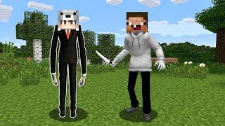 SLENDERMAN VE JEFF THE KİLLER OLDUK! - Minecraft