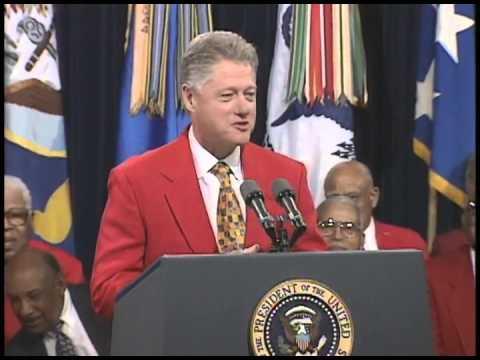 Pres. Clinton's Remarks Honoring Gen. Benjamin O. Davis, Jr. of the Tuskegee Airmen