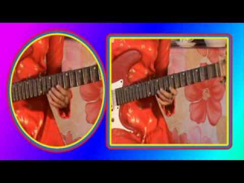 TUYẾT HOA độc tấu guita: bản đỏan khúc lam giang (17)