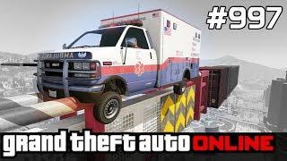 GTA 5 PC Online Po Polsku [#997] SKILL TEST Ambulance /z Bertbert