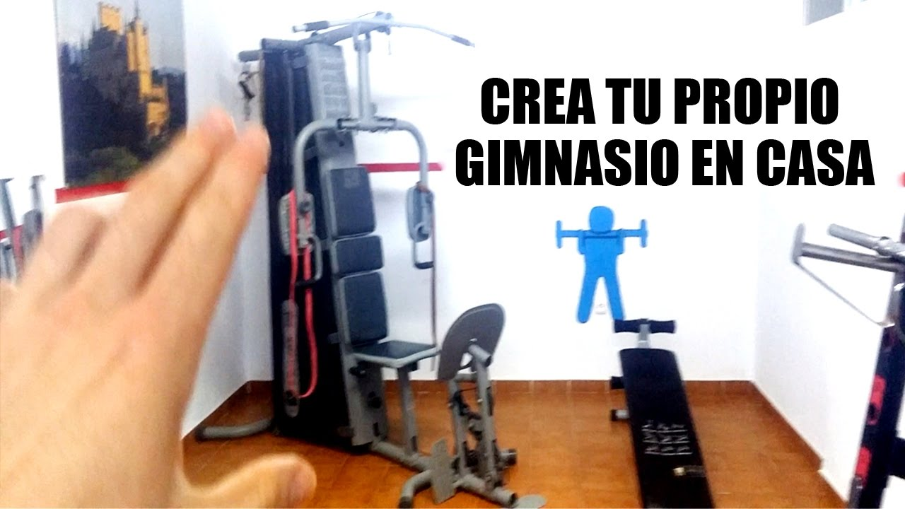 Mi gimnasio en casa mf fitness youtube for Gimnasio en casa