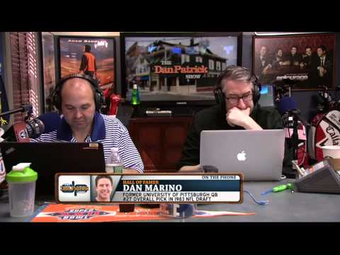 Dan Marino On The Dan Patrick Show (Full Interview) 4/29/15