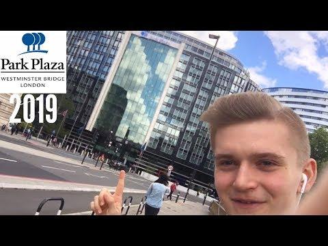 Park Plaza Westminster Bridge London Hotel Room/Lobby Tour June 2019 - London, Day 2/2
