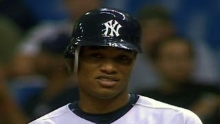Robinson Cano gets first hit in Majors