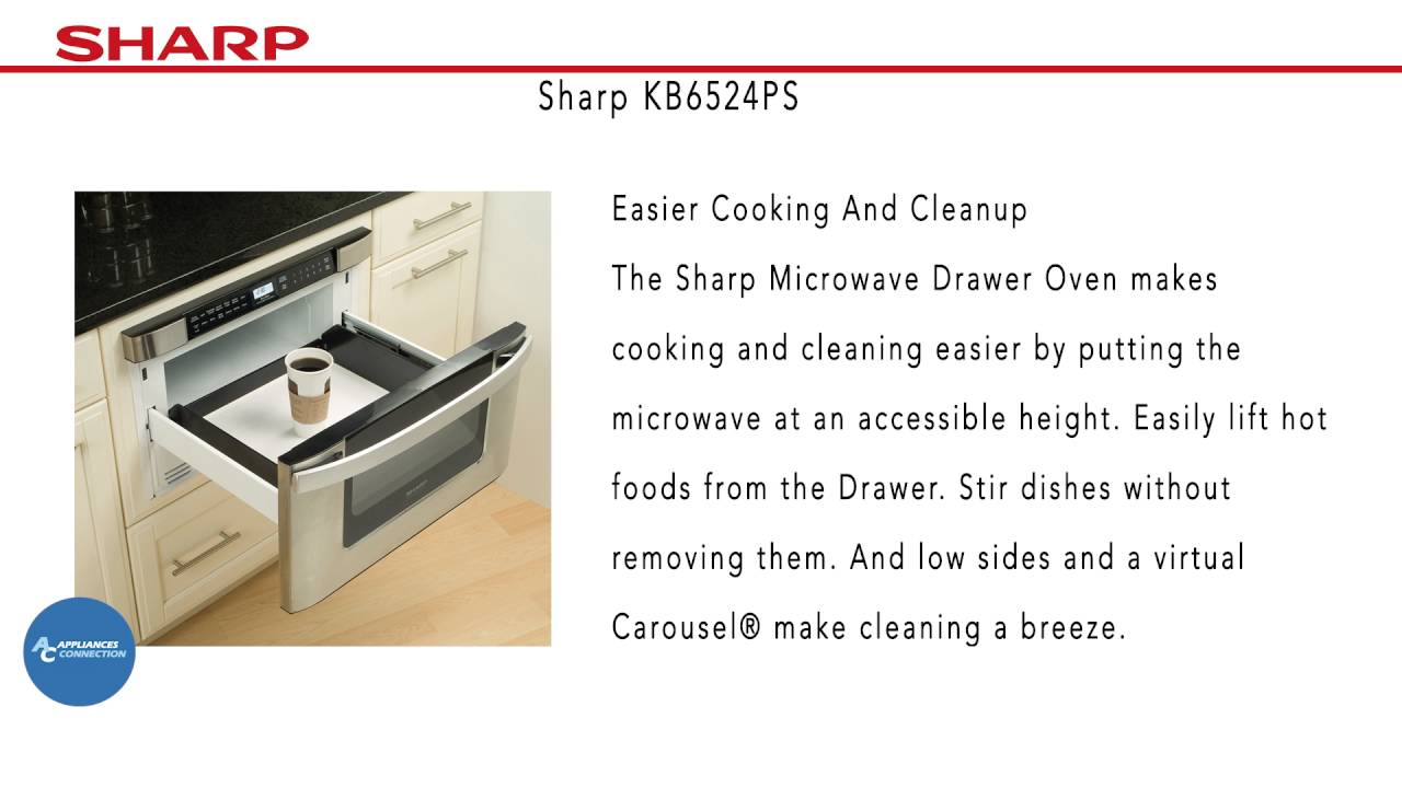 Sharp Built In Microwave Drawer Oven Kb6524ps At Www