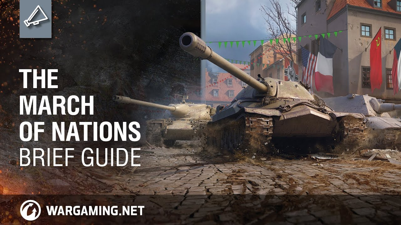 World of Tanks – The March of Nations: Brief Guide