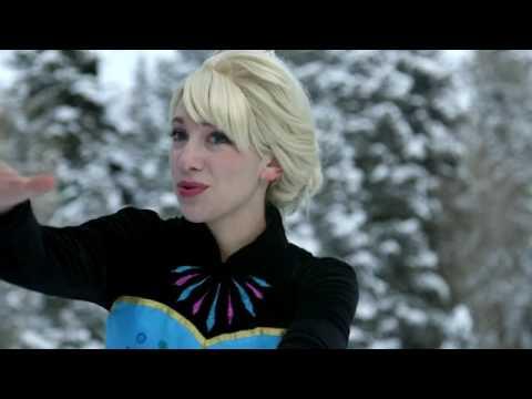Frozen Let it Go  In Real Life baru