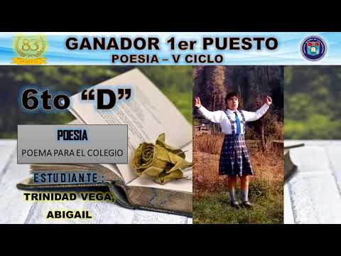 1er Lugar Concurso de Poesía 2017 Nivel Primaria from YouTube · Duration:  3 minutes 1 seconds