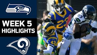 Seahawks vs. Rams | NFL Week 5 Game Highlights