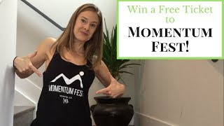 Win a FREE ticket to Momentum Fest! - 3 Day Pilates Festival thumbnail