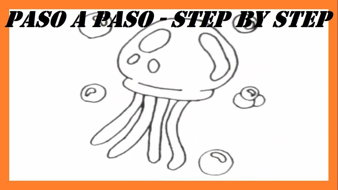 Como dibujar una Medusa Bob Esponja l How to draw a Medusa SpongeBob ...