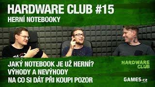 Hardware Club #15: Herní notebooky