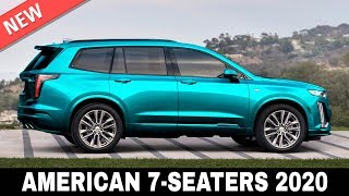 All-NEW 7 Passenger SUVs Produced by American Manufactures for 2020 Model Year